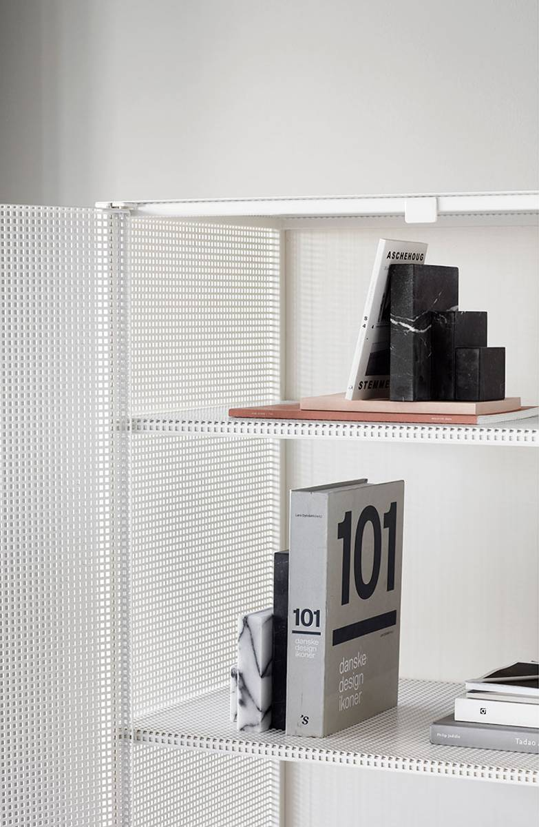 Grid Cabinet Beige - Kristina Dam Studio